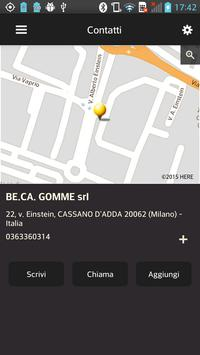 BE.CA. GOMME apk screenshot