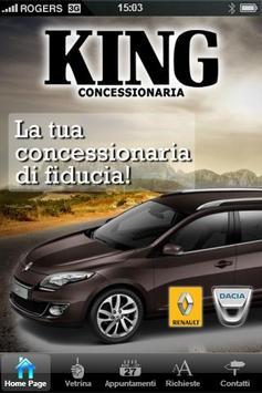 Concessionaria Renault King poster