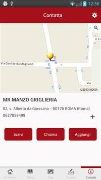 Mr Manzo Griglieria apk screenshot