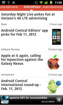 Reader for Android™ News screenshot 3