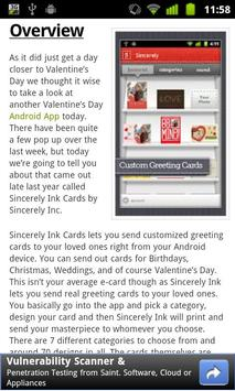 Reader for Android™ News screenshot 5