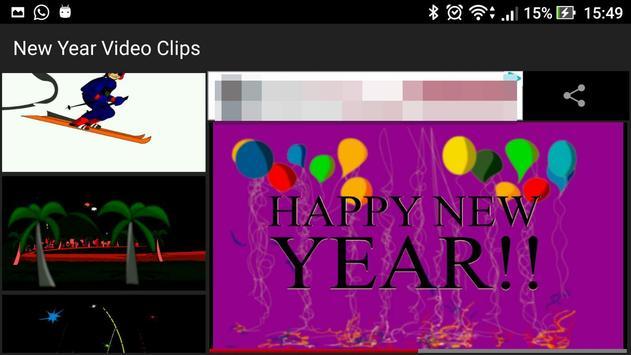 New Year Video Clips apk screenshot
