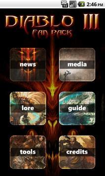 Diablo 3 Fan Pack poster
