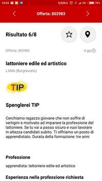 Trova lavoro in Alto Adige apk screenshot