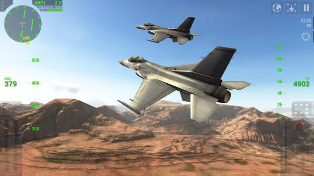 F18 Carrier Landing Lite स्क्रीनशॉट 2