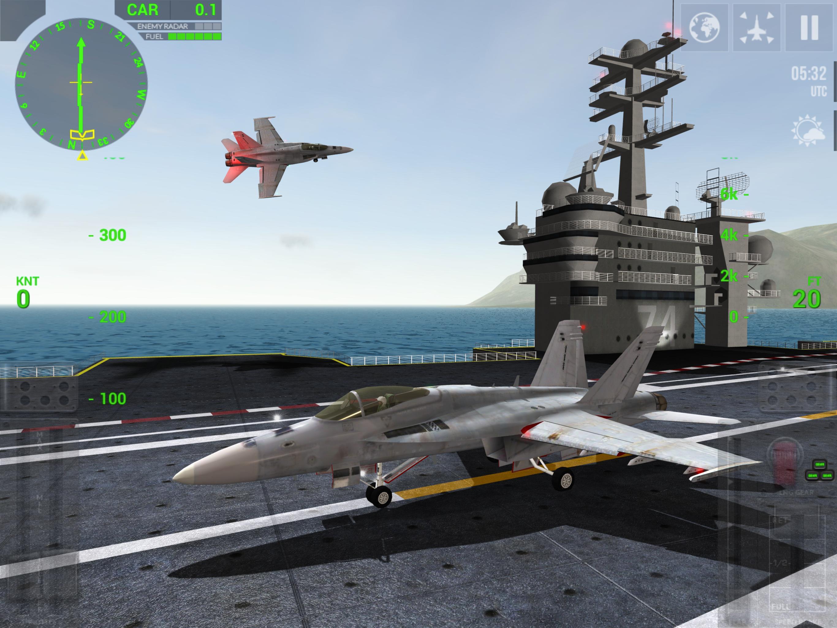 F18 carrier landing ll