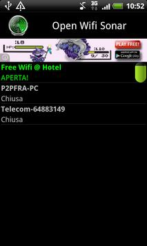 Open Wifi Sonar poster