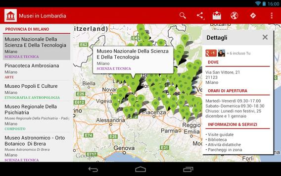 Museums in Lombardy screenshot 4