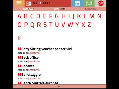 ABC DEI DIRITTI screenshot 8
