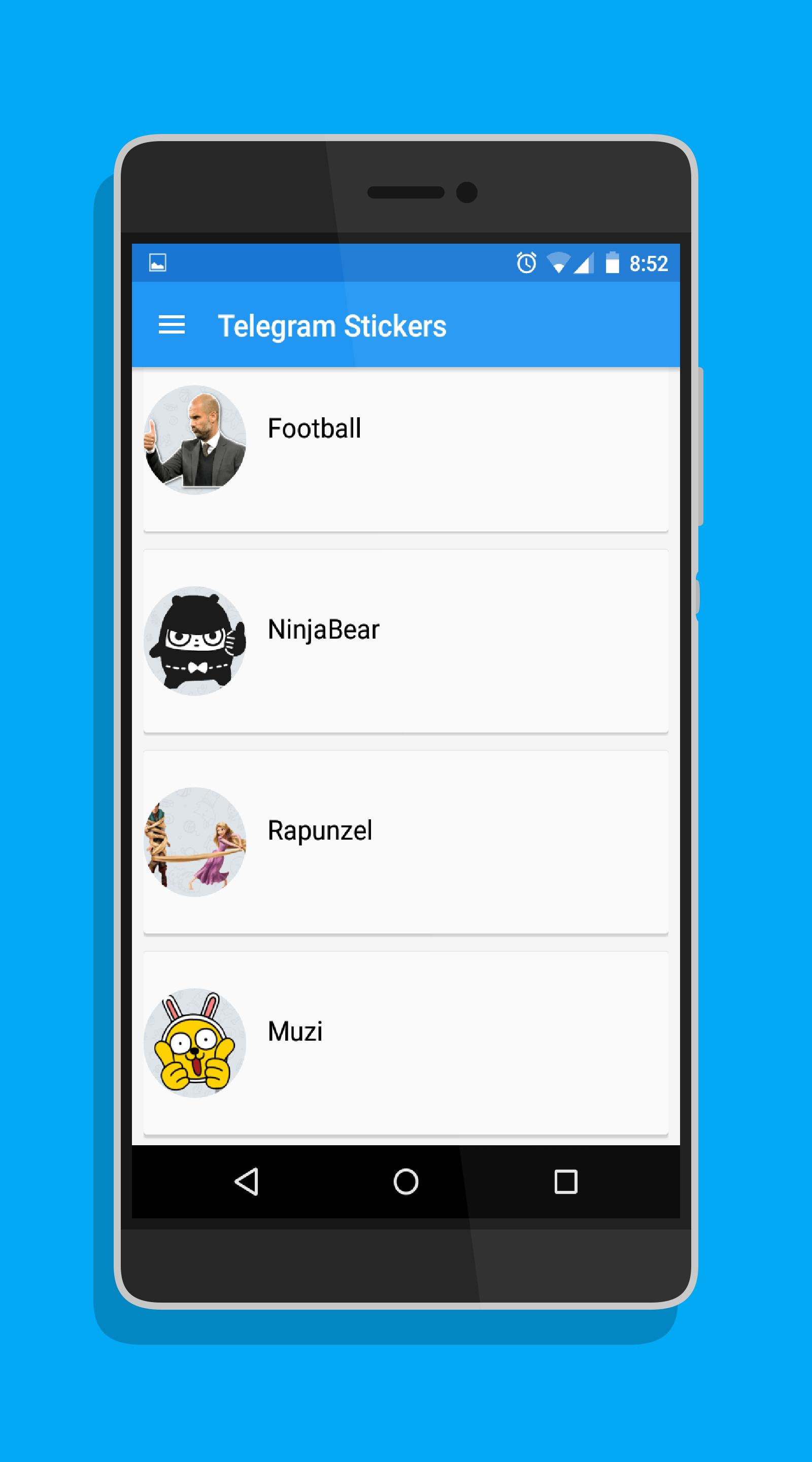 Telegram Stickers for Android   APK Download