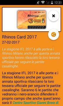 Rhinos screenshot 2