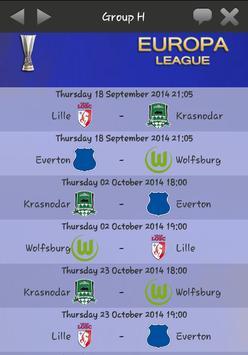 Europa L. Live 2014-2015 apk screenshot