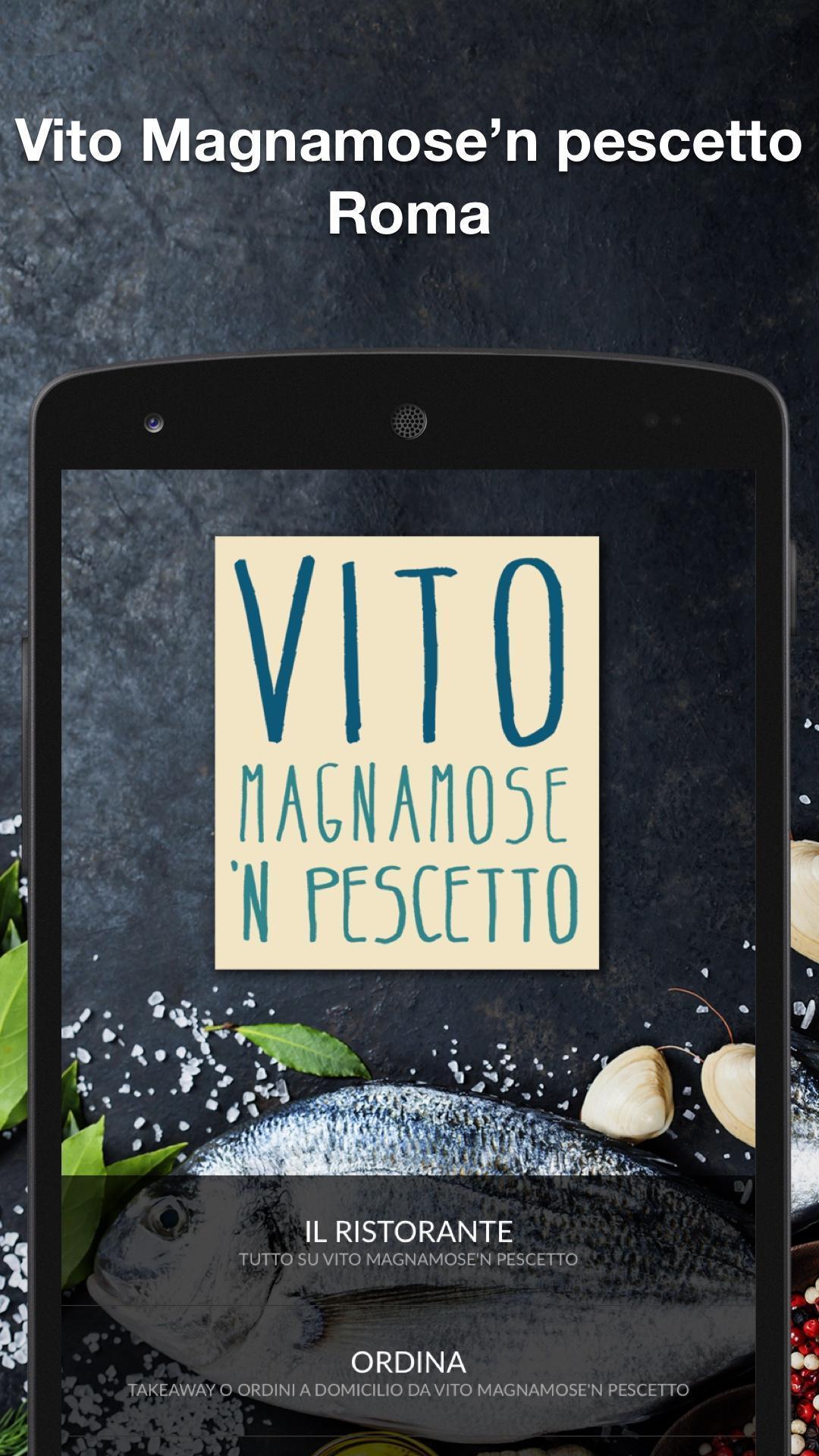 Vito Magnamose 'n Pescetto poster