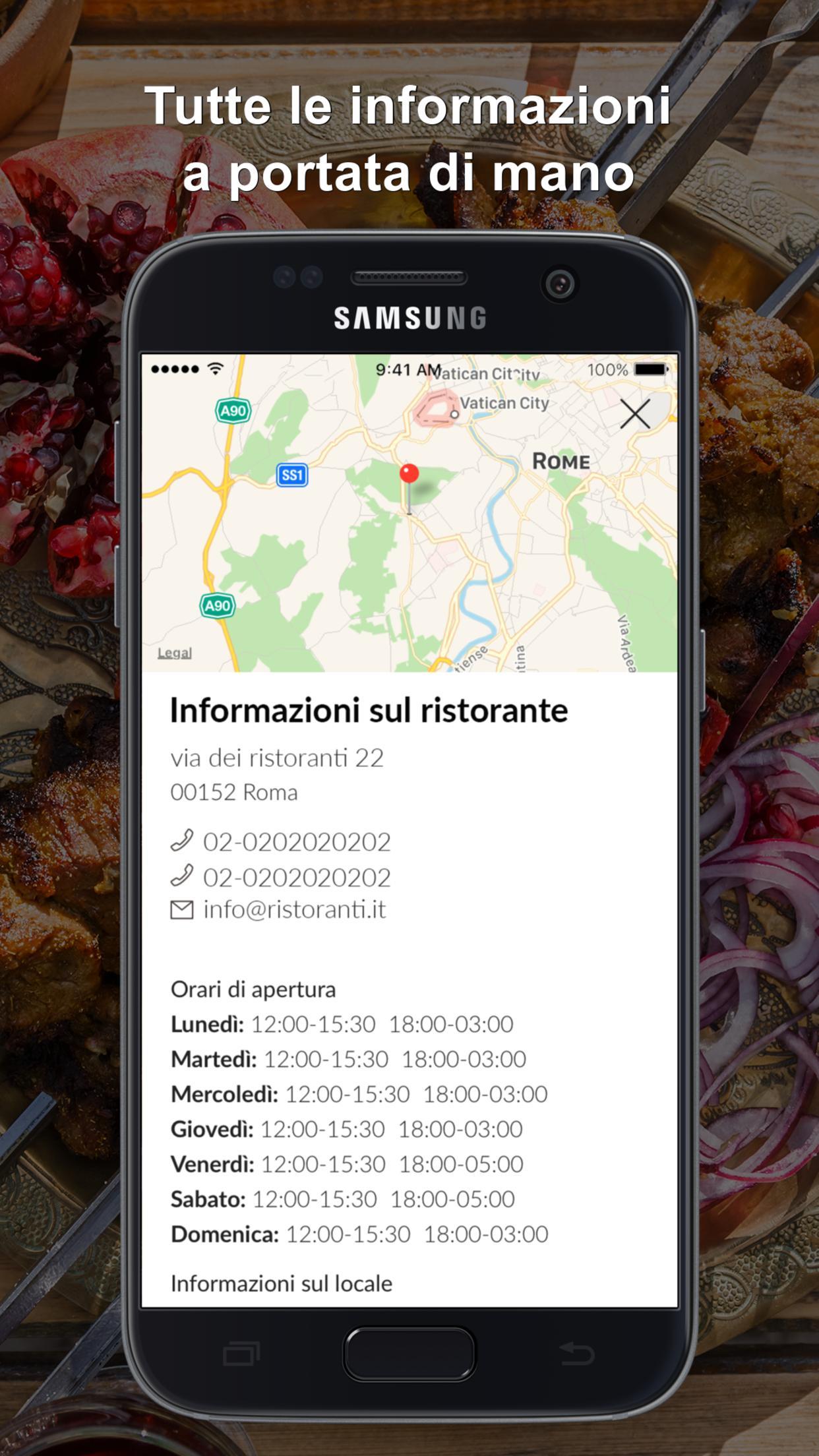 Zafferan Cucina Persiana For Android Apk Download