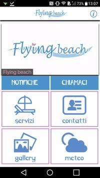 Flying Beach App poster