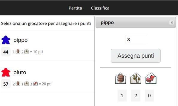 Segnapunti screenshot 2