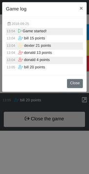Scoreboard screenshot 2