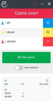 Scoreboard screenshot 3