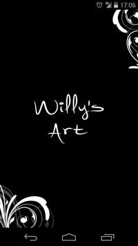 WIlly's Art poster