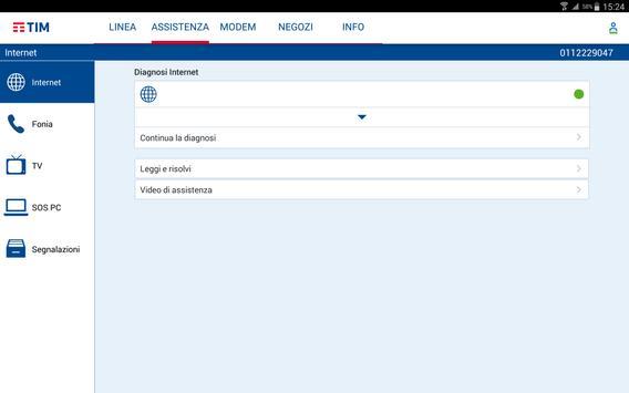 MyTIM Fisso apk screenshot