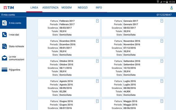 MyTIM Fisso screenshot 5