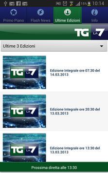 TG La7 Mobile screenshot 1