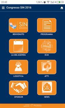 Congresso SIN poster