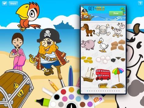 Pirate Puzzles - Get The Gold apk screenshot