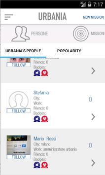 Urbania apk screenshot