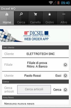 Dicsel WO poster