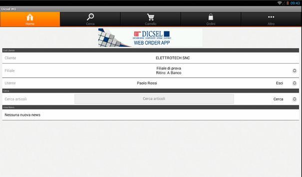 Dicsel WO apk screenshot