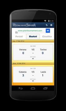 Risultati Serie A screenshot 2