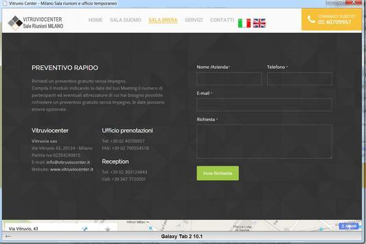 Vitruviocenter Milano apk screenshot