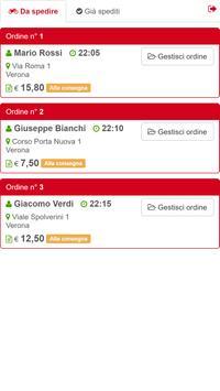 xMenu Gestione Ordini screenshot 1