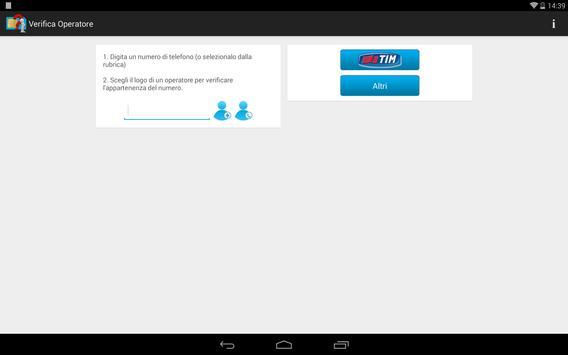 Verifica Operatore apk screenshot