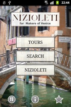 Nizioleti for Makers of Venice poster