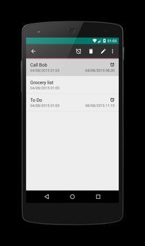 Notepad apk screenshot