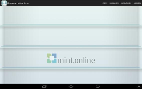 iAcademy mint.online screenshot 1