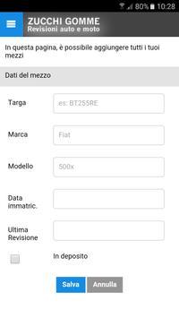 Zucchi Gomme screenshot 2