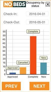 Free hotel management system (nobeds.com/app) apk screenshot
