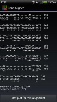 Gene Aligner apk screenshot