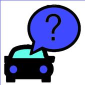 Car parking find +Navigation icon
