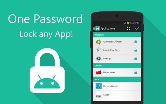 App Locker - Lock any App (No Ads) poster