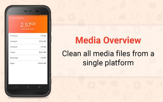 ITL Social Media Cleaner - Junk Media Cleaner apk screenshot