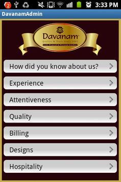 Davanam Admin apk screenshot
