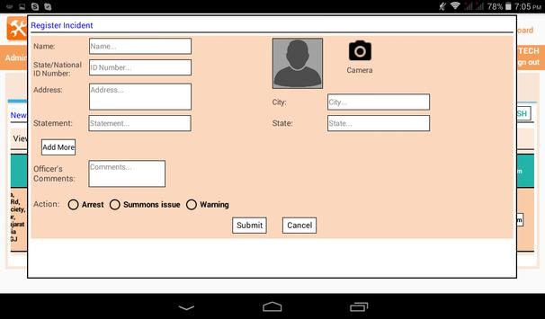 iUtility - Hawk Eye App screenshot 4