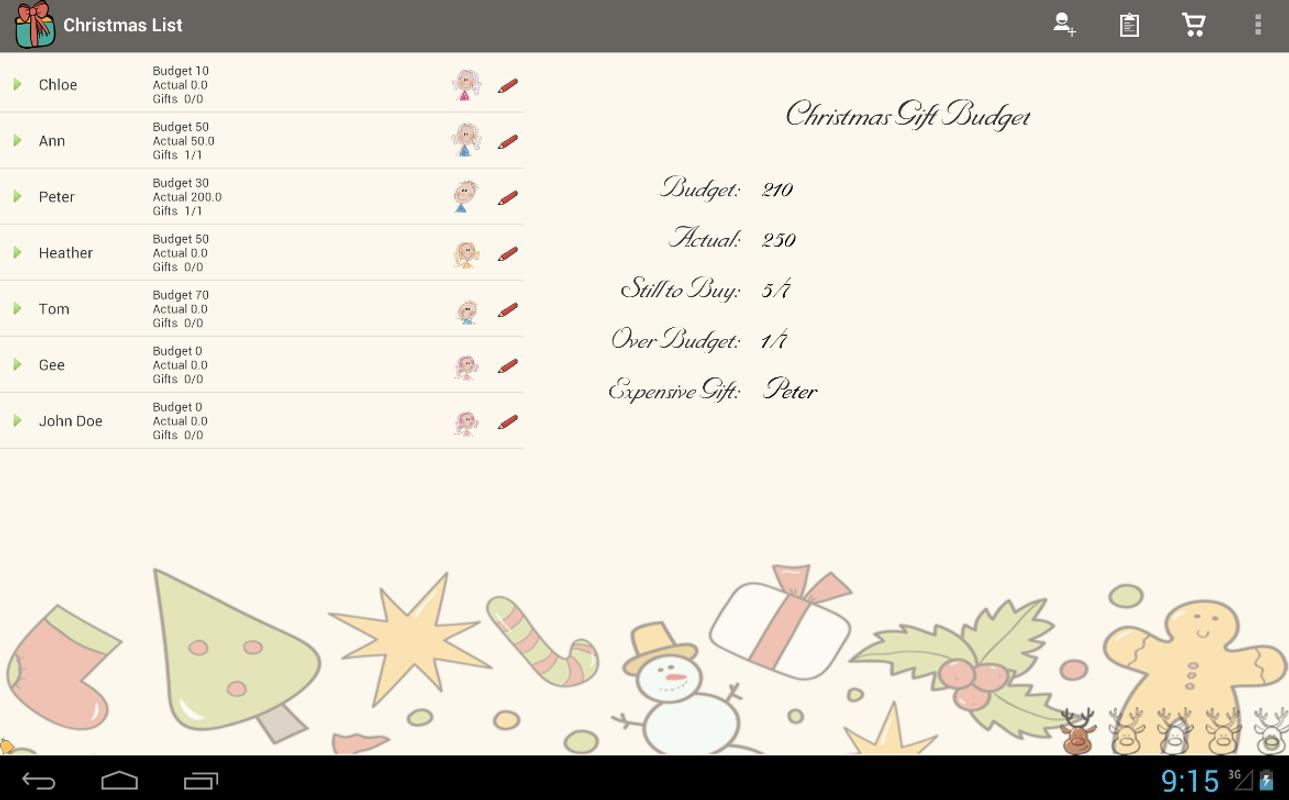 Christmas List Gift Planner APK Download - Free Shopping APP for ...