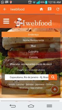 Iwebfood poster