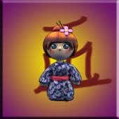 Geisha live wallpaper icon