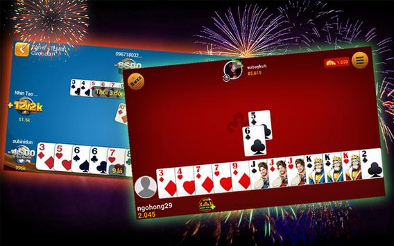 Tien Len Mien Nam- Southern Poker-Danh Bai Offline screenshot 1